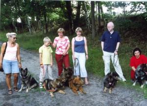 Ebby, Enya, Mira, Elise, Elvis (Bilbo), Emma